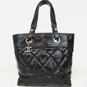 100% Auth CHANEL Biarritz tote
